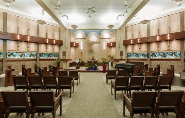 Chapel in Milwaukee Catholic Home
