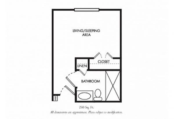 The Gardens of Scottsdale floor plan 3