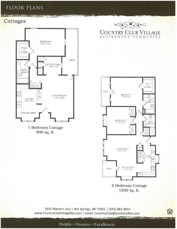 Country Club Village floor plan 3