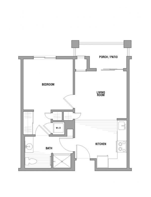 Palos Verdes Senior Living floor plan 2