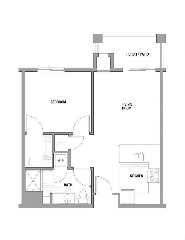 Palos Verdes Senior Living floor plan 3