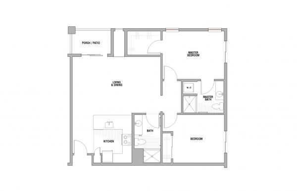 Palos Verdes Senior Living floor plan 4
