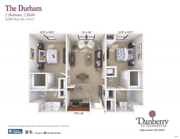 Danberry At Inverness durham 2 floor plan