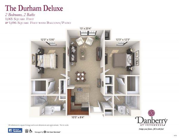 Danberry At Inverness durham deluxe 2 floor plan