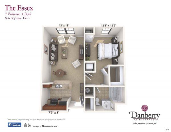 Danberry At Inverness essex 2 floor plan