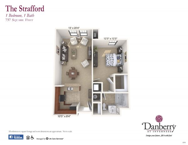 Danberry At Inverness strafford 2 floor plan
