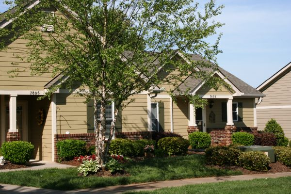 Model home at The Glens at Birkdale Commons