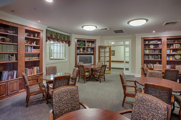 The Brennity at Fairhope resident library