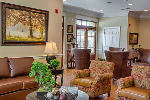 The Brennity at Fairhope independent living common area