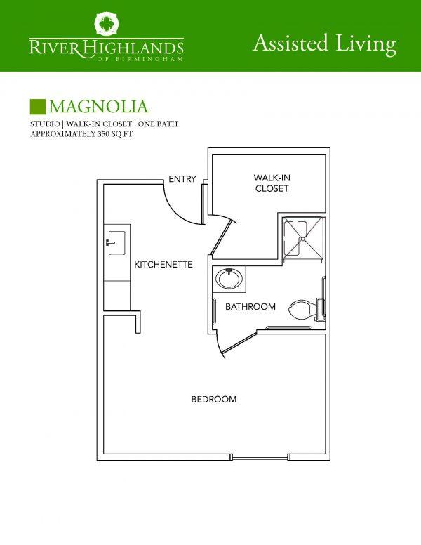 River Highlands Magnolia floor plan