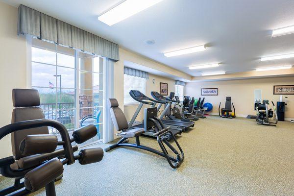 Palos Verdes Senior Living fitness center