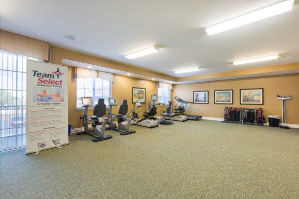 Mountain Park Senior Living fitness center