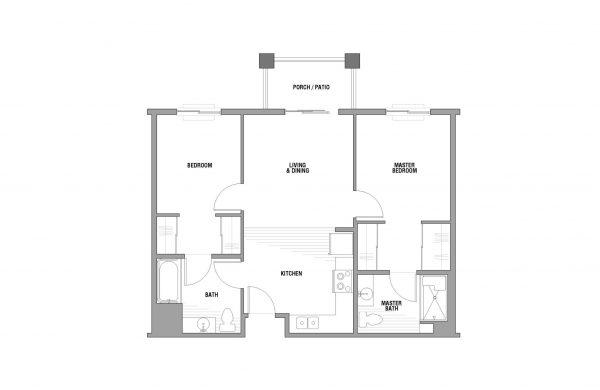 Palos Verdes Senior Living floor plan 6