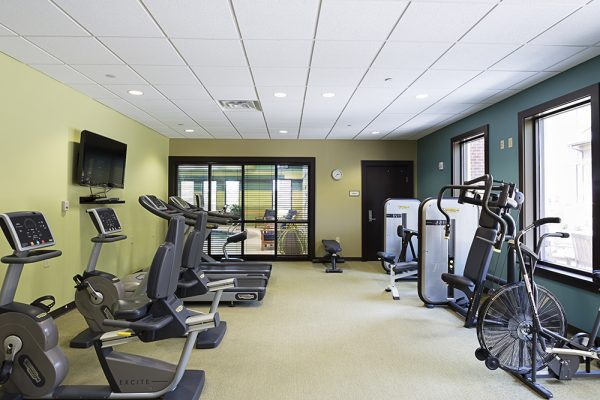 Fitness center at Danberry At Inverness