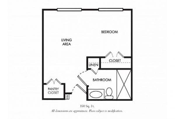 The Gardens of Scottsdale floor plan 6