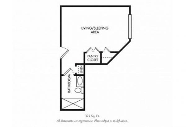 The Gardens of Scottsdale floor plan 8
