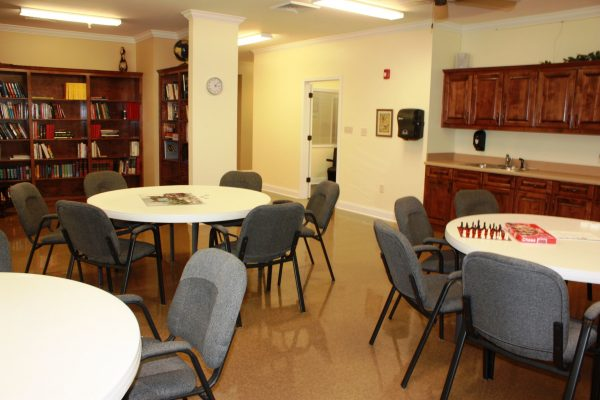 Community recreation room in Village at Cook Springs