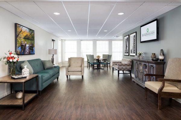 River Highlands community living room