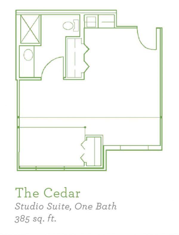 Summer Village Cedar floor plan