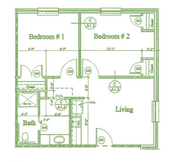 Summer Village Mulberry floor plan