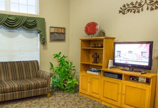 Abilene Place community living room