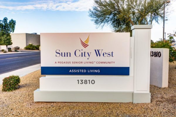 Sun City West entrance sign