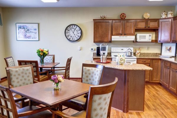 Country kitchen for residents of Sun City West