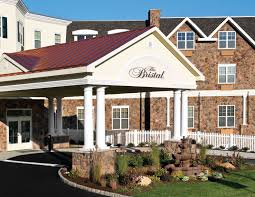 The Bristal Assisted Living at Woodcliff Lake entrance and driveway