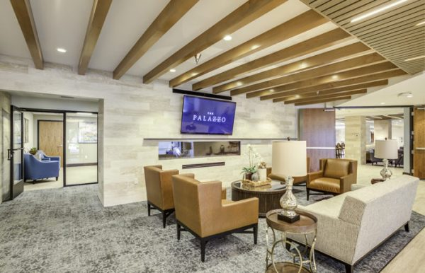 The Palazzo community living room