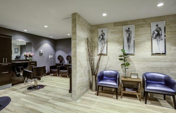 Salon and spa at The Palazzo