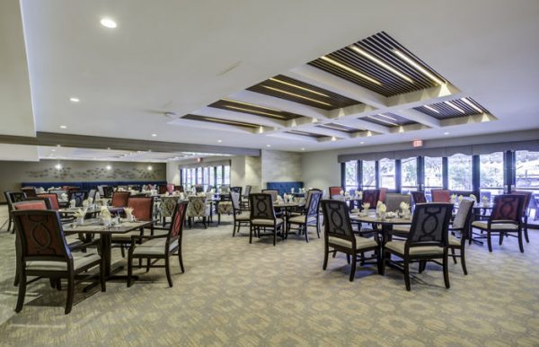 The Palazzo community dining room