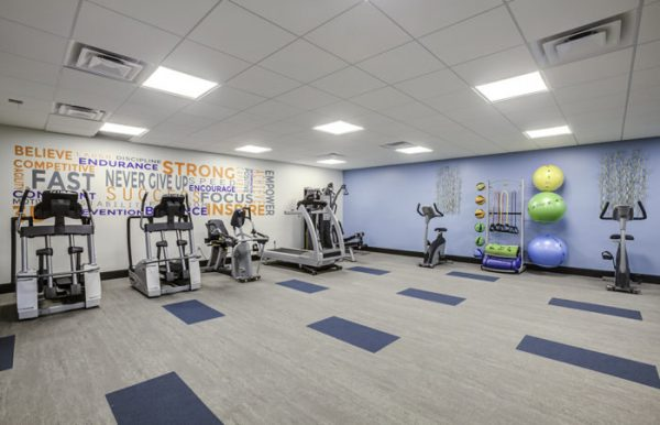 The Palazzo fitness center