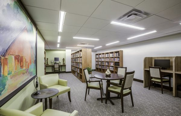 Community library at The Palazzo