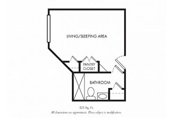 The Gardens of Scottsdale floor plan 10