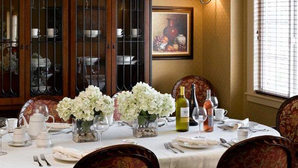 Private dining room in Atria Grapevine