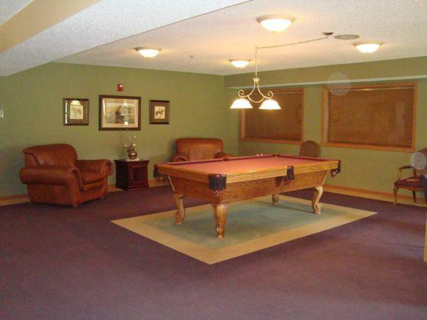 The Crossings at Brookwood billiards room