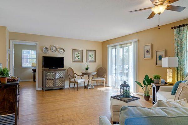 Brookdale Cedar Springs model living room