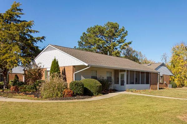 Brookdale Cedar Springs model home exterior
