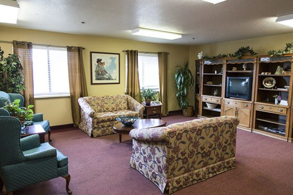 Community living room at Brookdale Fort Smith