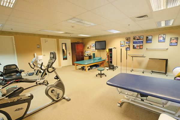 Fitness and exercise room in Brookdale North Scottsdale