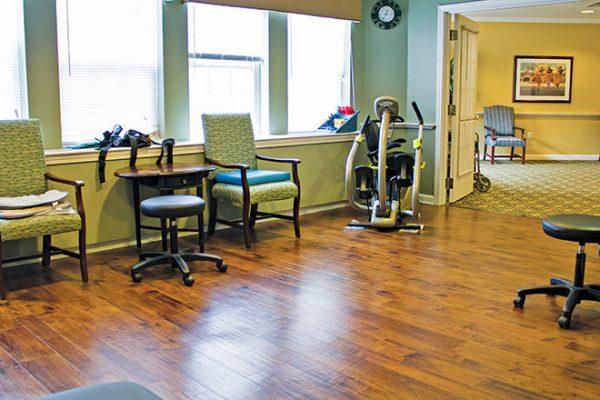 Brookdale South Windsor fitness center