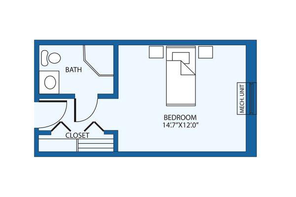 The Columbia Presbyterian Community landrum floor plan