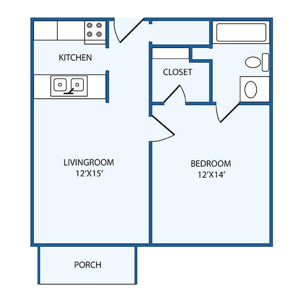 The Columbia Presbyterian Community bonneau floor plan