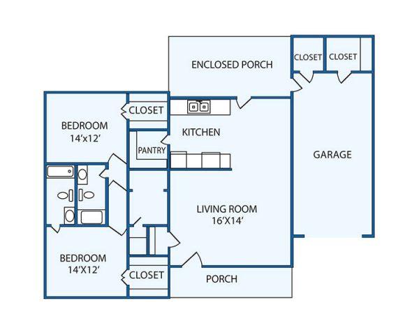 The Columbia Presbyterian Community greenwood floor plan