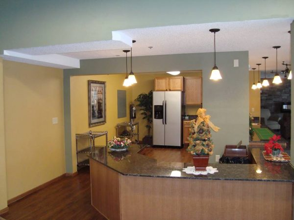 The Crossings at Brookwood resident kitchen