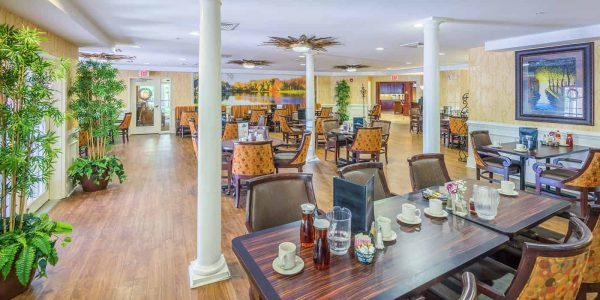 Main dining room in The Village at Southlake