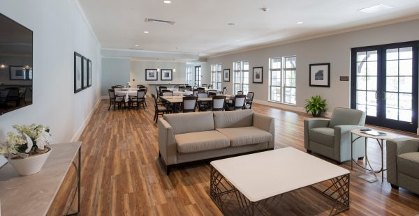 The Blake at Malbis community dining room