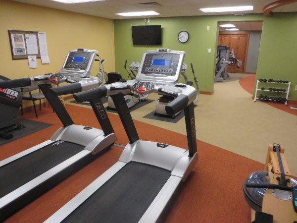 Treadmills in the Milwaukee Catholic Home fitness center