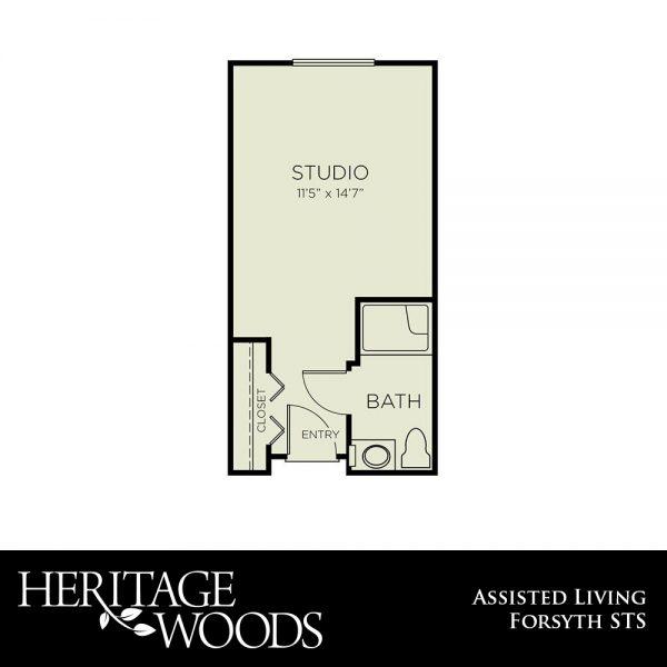 Heritage Woods AL Forsyth floor plan