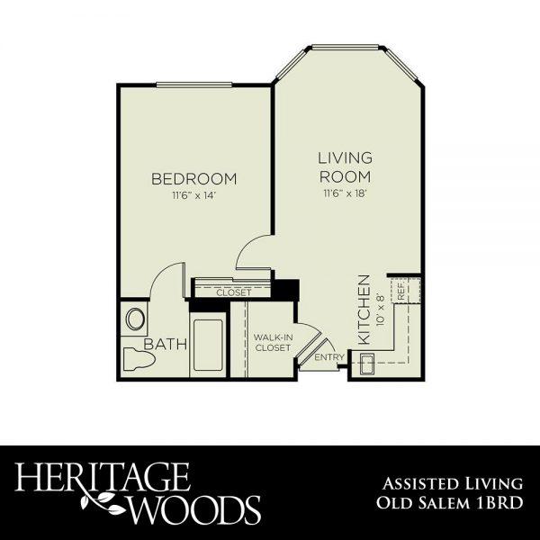 Heritage Woods AL Old Salem floor plan